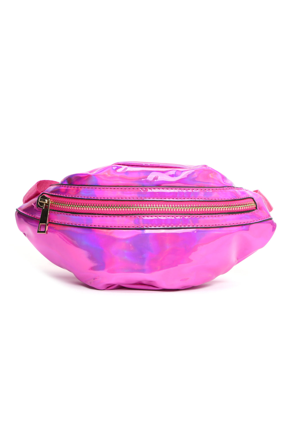Hey Holo What's Up Fanny Pack - Fuchsia