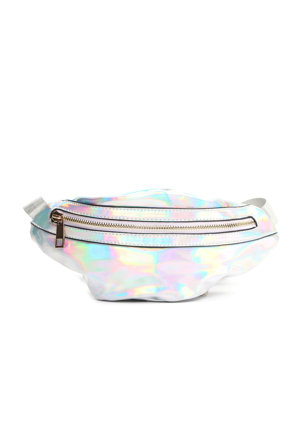 Hey Holo What's Up Fanny Pack - Silver