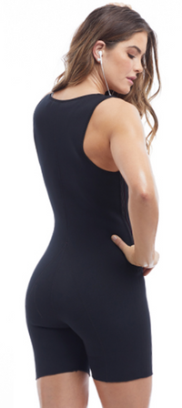 Sculpt And Compress Active One Piece - Black