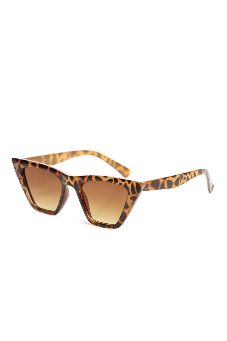 Sharp Attitude Sunglasses - Tortoise