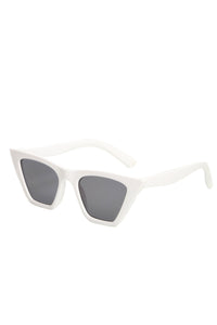Sharp Attitude Sunglasses - White