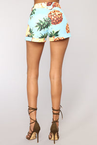 Sweet And Sour Shorts - Blue