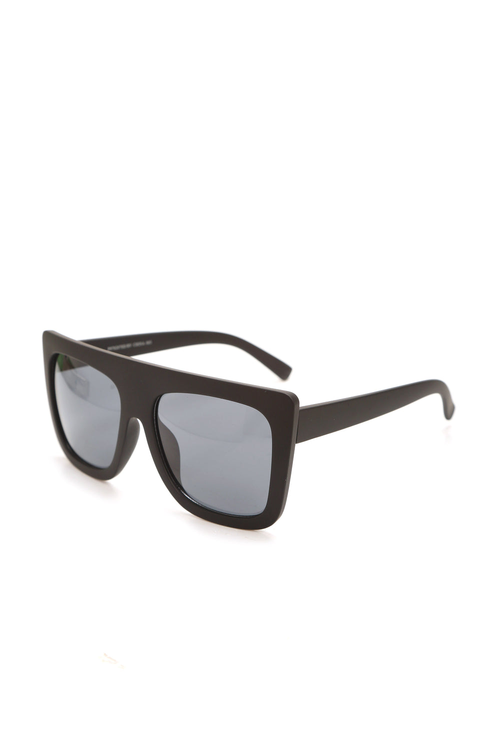 Look In The Mirror Sunglasses - Matte Black