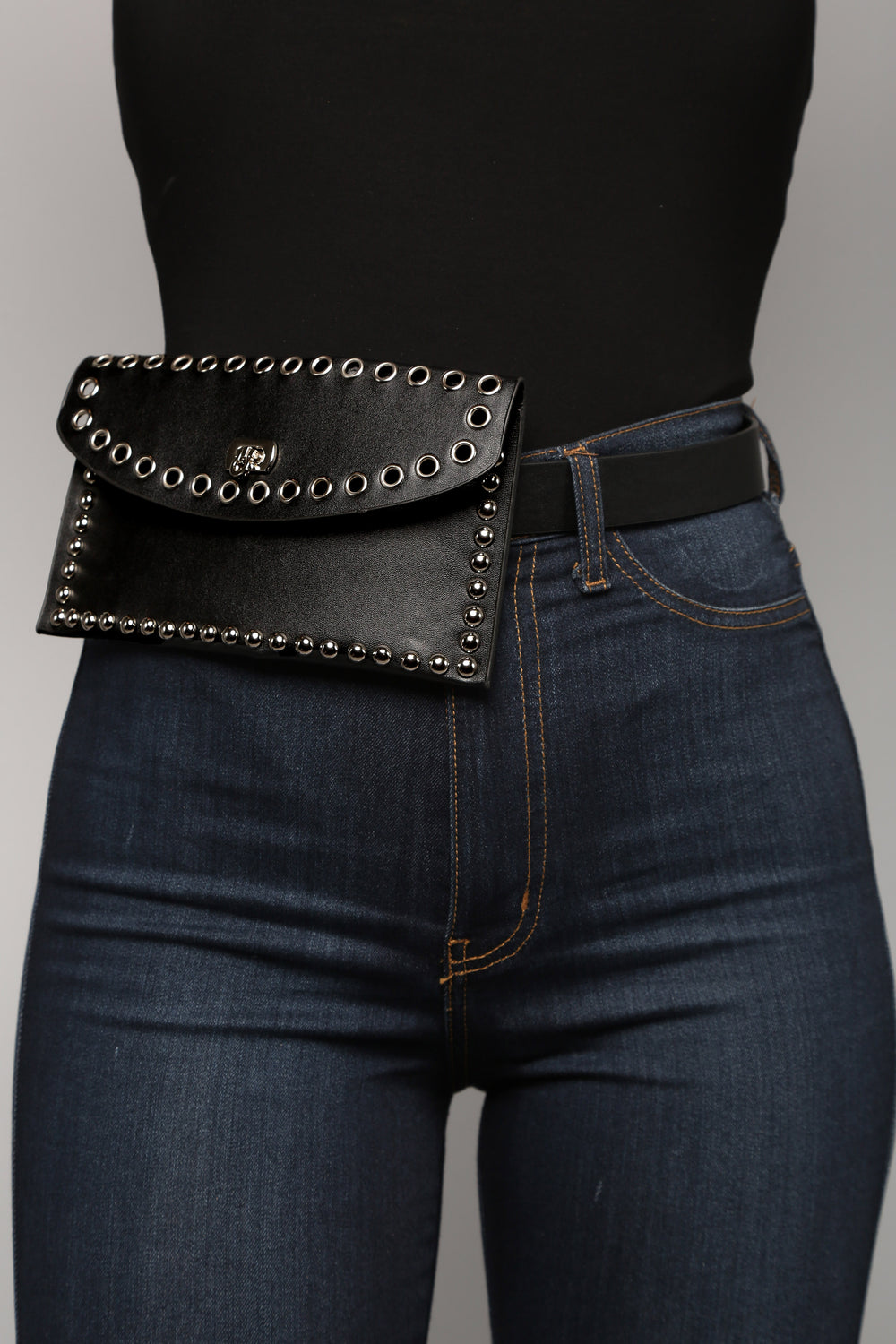Bring On The Heat Fanny Pack - Black