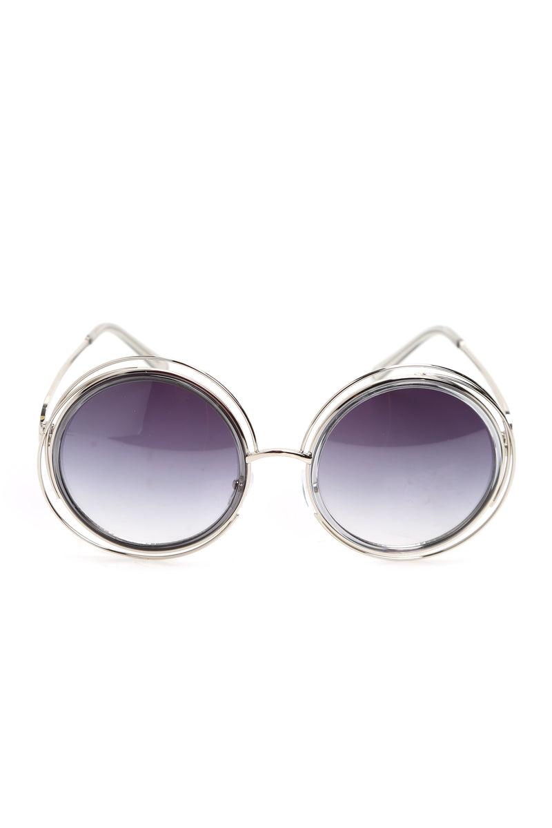 In Circles Sunglasses - Smoke/Silver