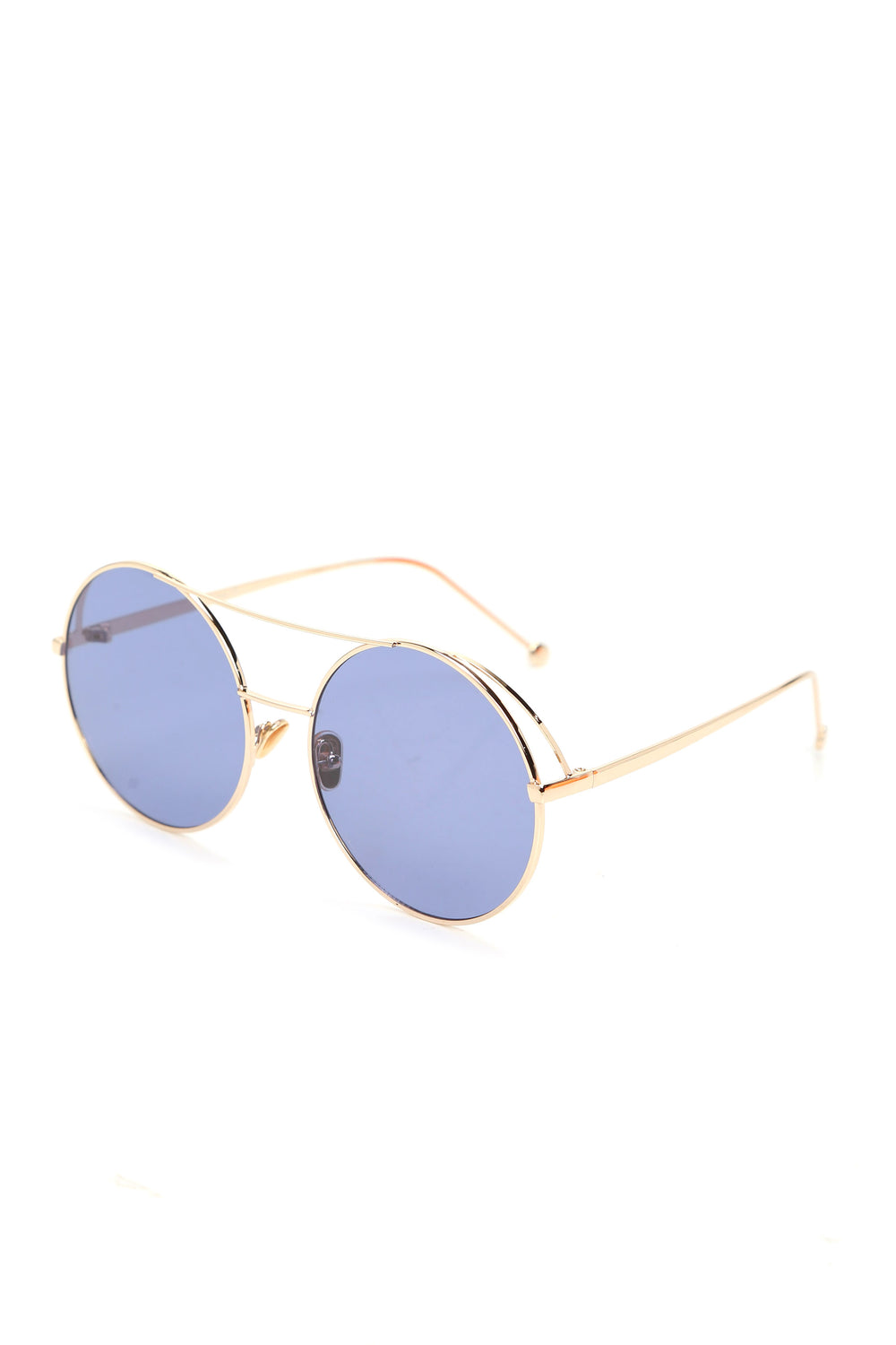 Don't Bumble Me Around Sunglasses - Blue/Gold
