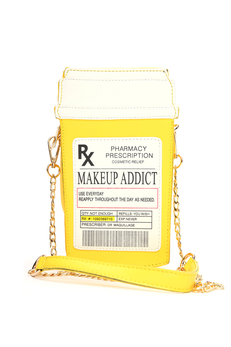 Addicted To You Crossbody Bag - Yellow