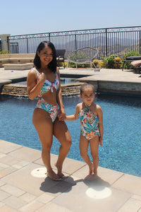Mini Party At My Cabana Swimsuit - Multi