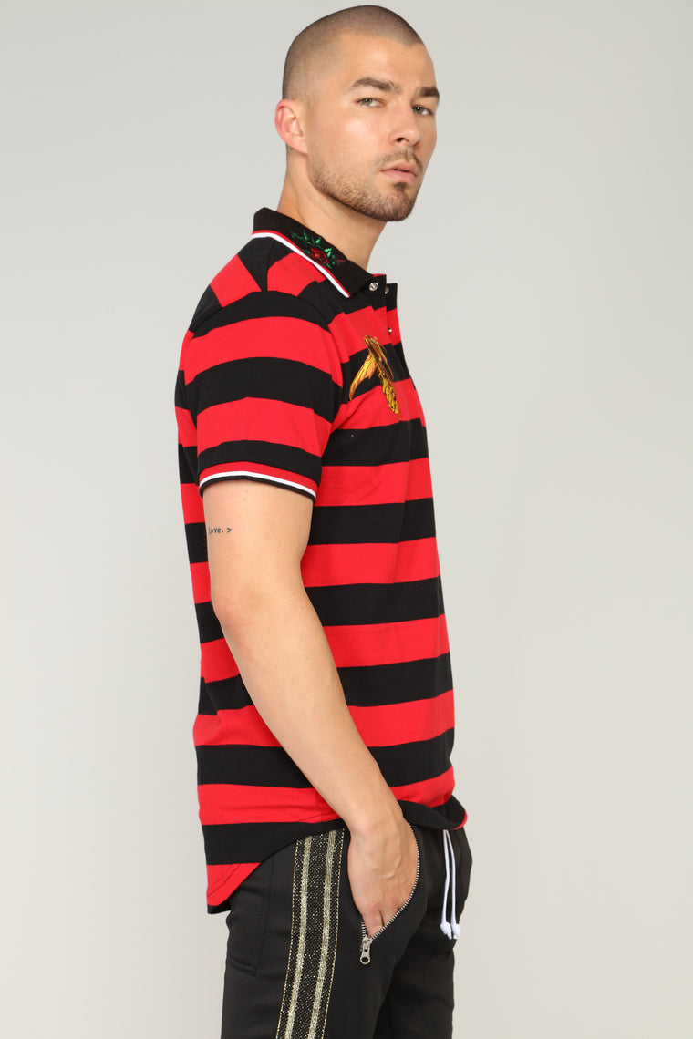 Mick Polo Top - Red