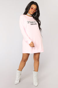 Call Me Babygirl Tunic Top - Pink