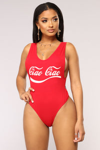 Ciao Ciao Bodysuit - Red