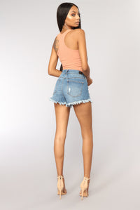 Jack Cropped Top - Rust