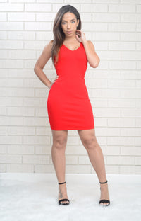 Red Hot Dress - Red