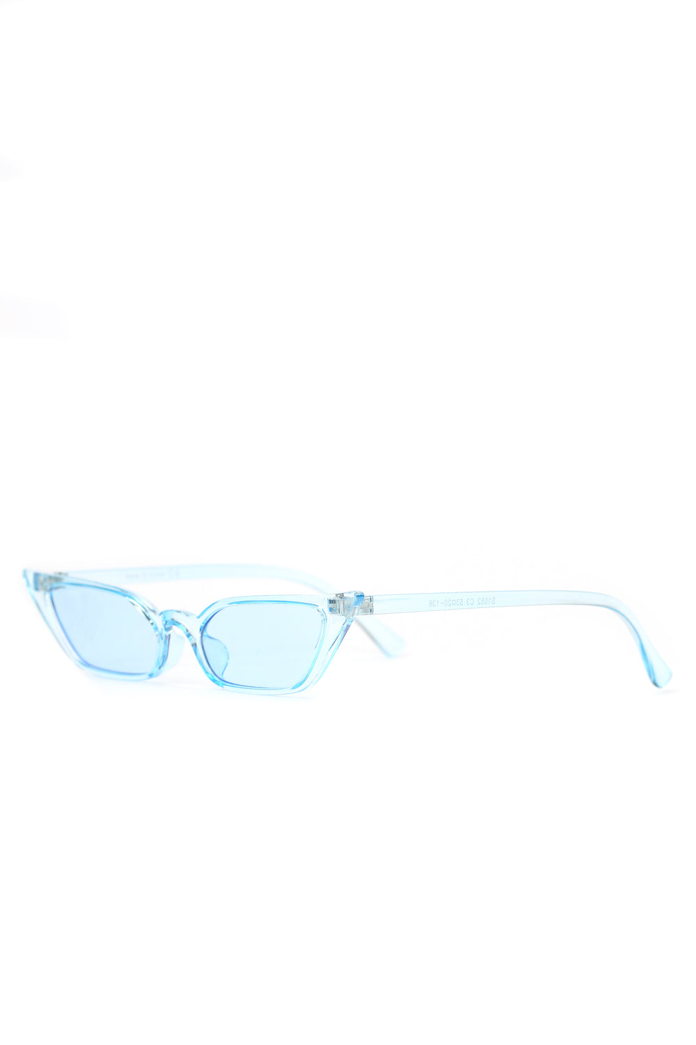 Cat To Know Me Sunglasses - Blue