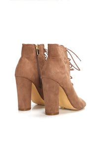 Back Up Bootie - Taupe
