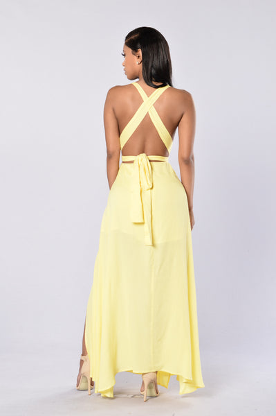 Love and Sunshine Dress - Yellow