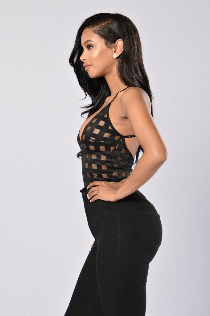 Fresh Off the Block Bodysuit - Black