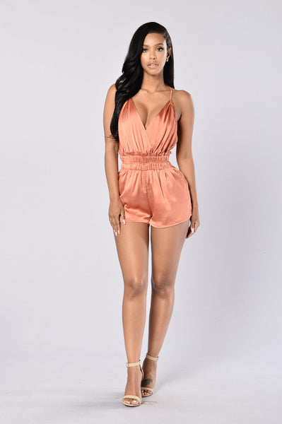 Private Weekend Romper - Rust