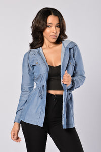Soft Embrace Jacket - Blue Angle 1