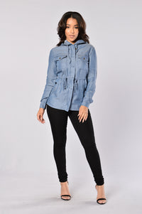 Soft Embrace Jacket - Blue Angle 6