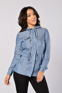 Soft Embrace Jacket - Blue Angle 5