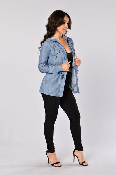 Soft Embrace Jacket - Blue
