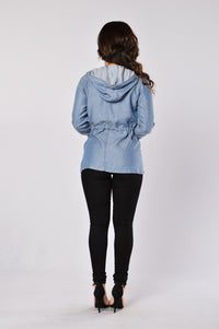 Soft Embrace Jacket - Blue Angle 8