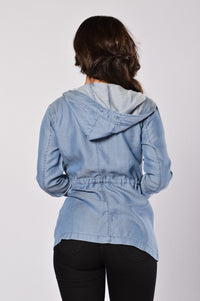 Soft Embrace Jacket - Blue Angle 3