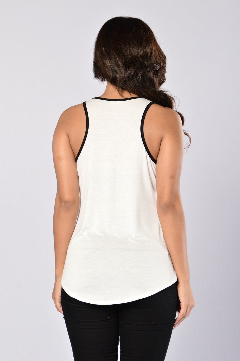Tamera Top - White/Black
