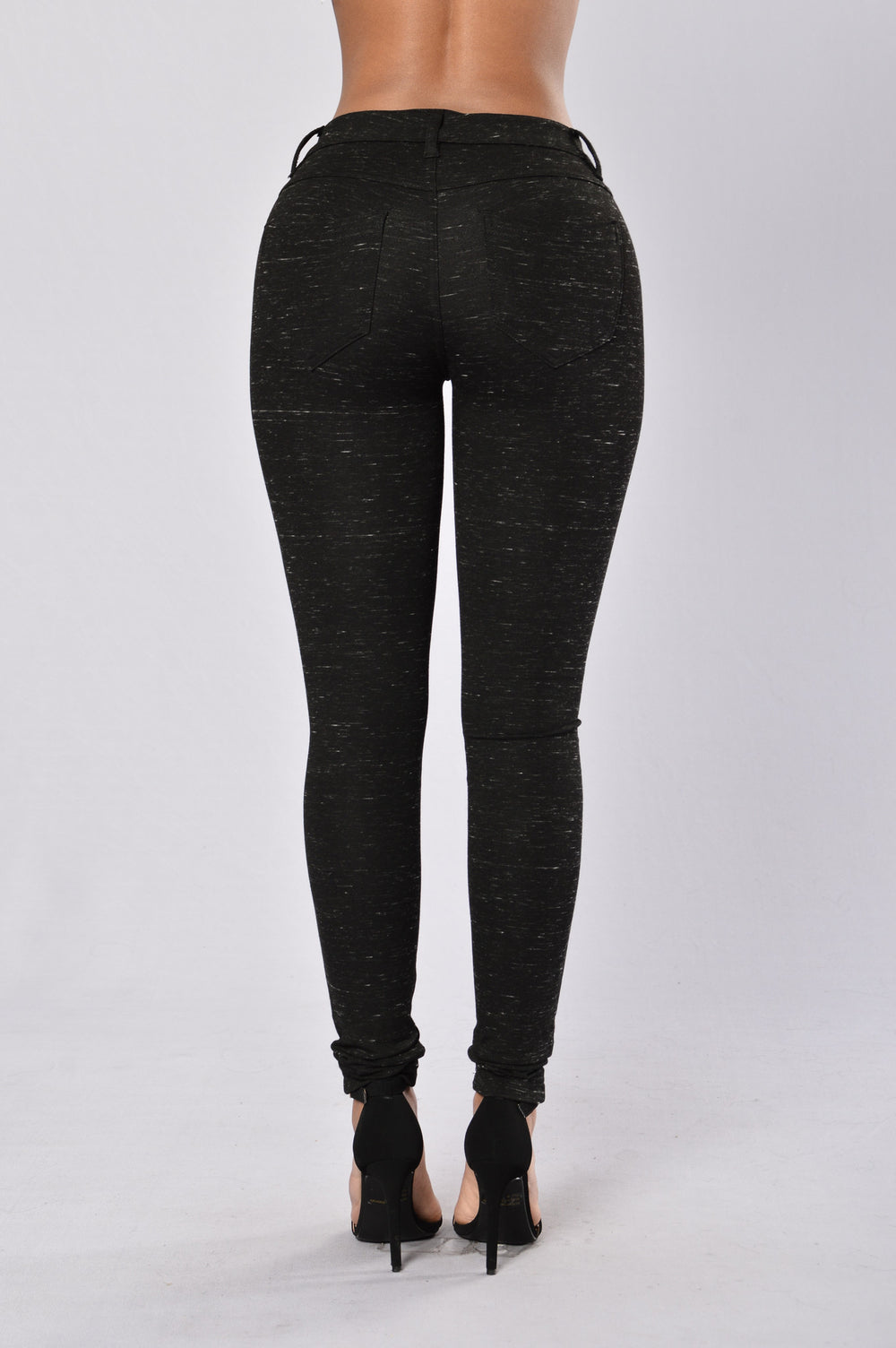 Everyday Legging - Black Slub