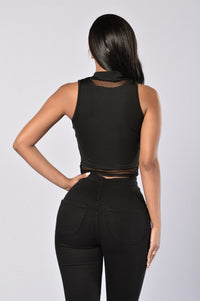 Haywire Top - Black