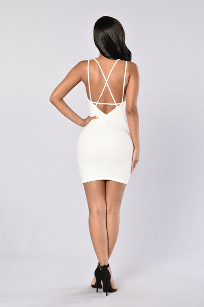 Roam Around Dress - Ivory