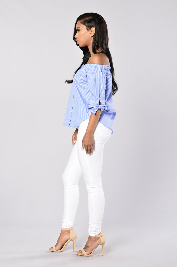 Sea Level Top - Blue