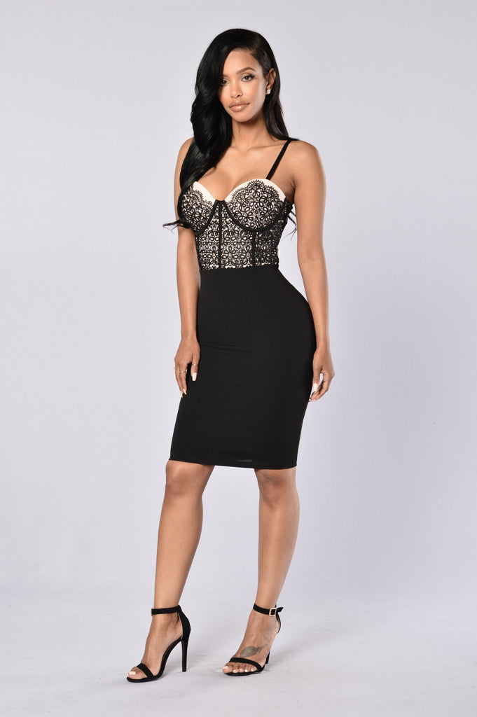 Is This Love Dress - Black