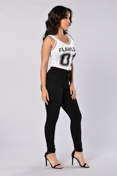 Got Game Bodysuit - White