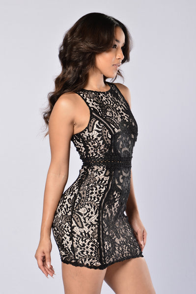 Dashing Dress - Black
