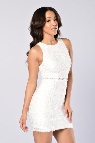 Dashing Dress - White