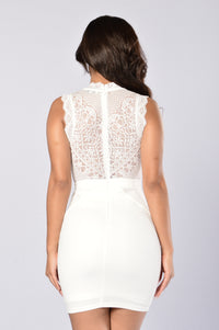 Hopeless Romantic Dress - White