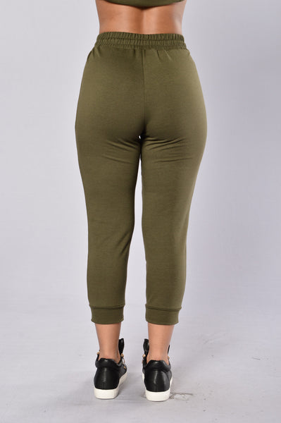 Fun On The Run Pant - Olive