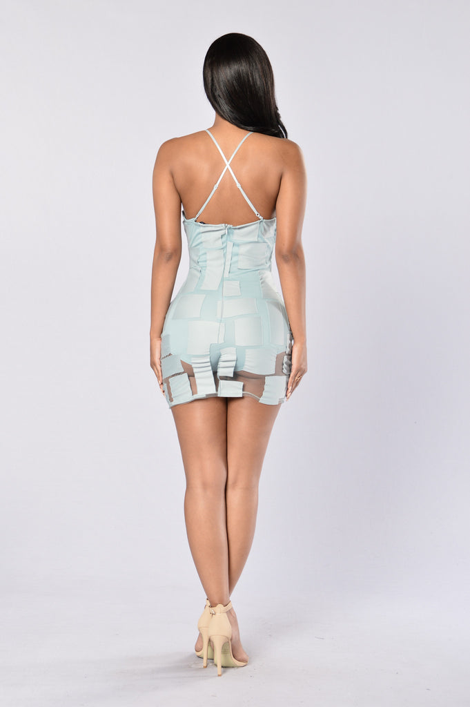 Lex Dress - Dusty Blue