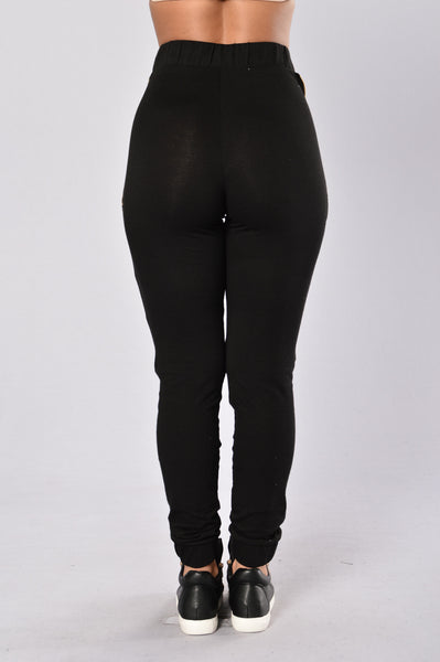 On the Go Pants - Black