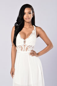 Love and Sunshine Dress - White Angle 4