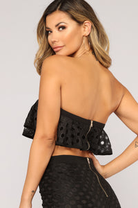 A Case Of You Lace Set - Black