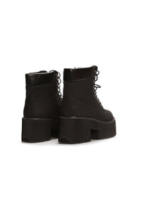 Platform Perform Booties - Black