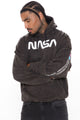 NASA Exploration Hoodie - Black Wash