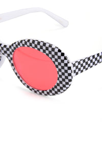 Speed Demon Sunglasses - Red