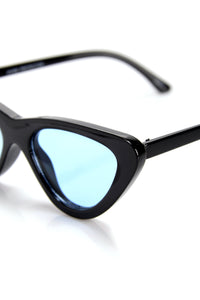 Levels To This Sunglasses - Black/Blue