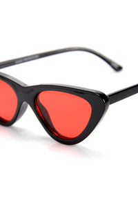 Levels To This Sunglasses - Black/Red