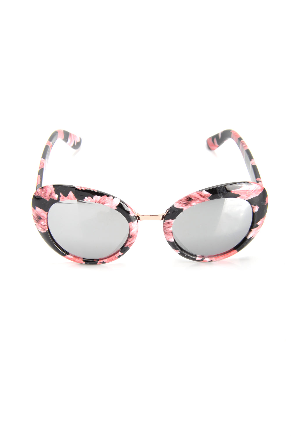 As If Sunglasses - Black Floral