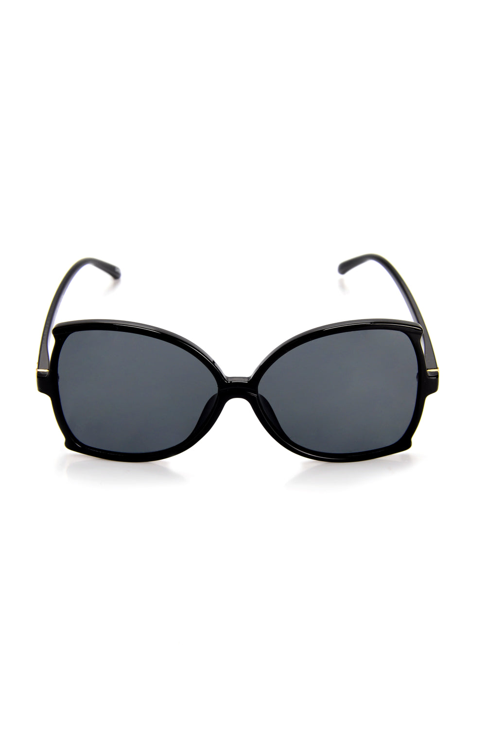 Hold The Sass Sunglasses - Black
